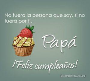 Cumpleaños para padre dedicatorias.