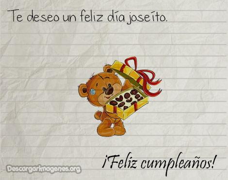 Joseito cumpleaños felicitar imágenes.