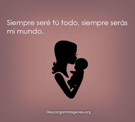 Pensamientos de amor para madres imágenes.