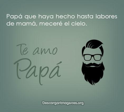 Compartir padre pensamientos bellos.
