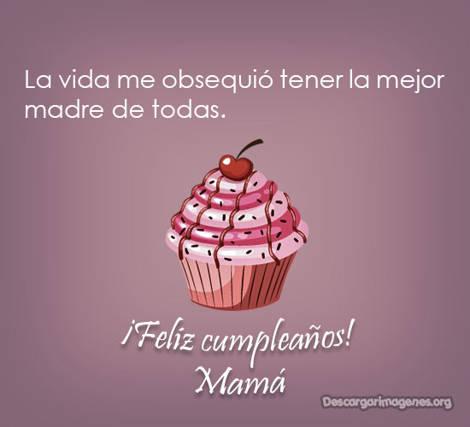 Dedicatorias mamá cumpleaños.