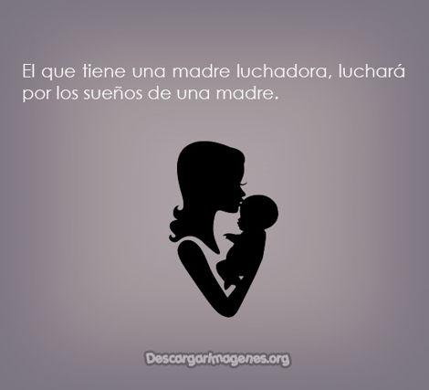 Madres fuertes en la vida imágenes con frases compartir.