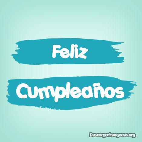 Feliz cumpleaños alguien especial.