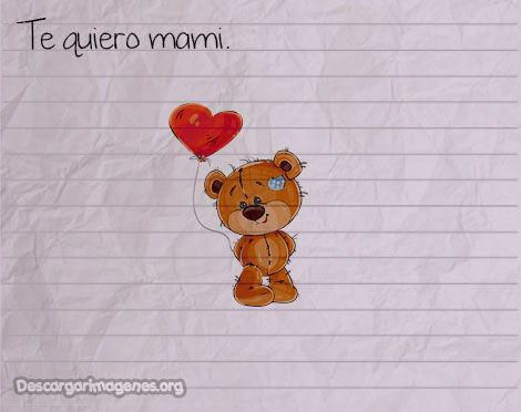 Pensamientos de amor para madres.